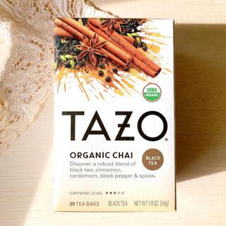 スターバックスコーヒー(Starbucks Coffee)のTAZO タゾティー チャイ 20袋 TAZO  スタバ オーガニックCHAI (茶)