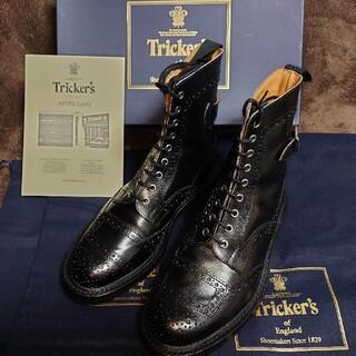 トリッカーズ(Trickers)のTricker's バイカーブーツ 8 Fit5(ブーツ)