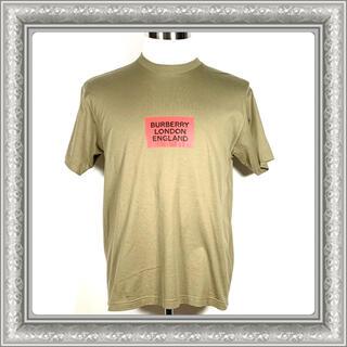 バーバリー(BURBERRY)のBURBERRY バーバリー Tシャツ クルーネック ロゴ カーキ XXS(Tシャツ/カットソー(半袖/袖なし))