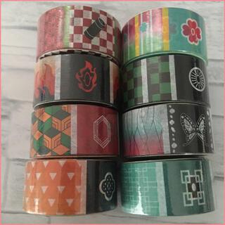 和柄マスキングテープ8個セット(キャラクターグッズ)