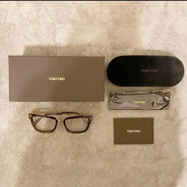 TOM FORD(トムフォード)の新品☆トムフォード TF5507 054 メガネ TOM FORD レディースのファッション小物(サングラス/メガネ)の商品写真