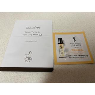 サンローラン(Saint Laurent)のイヴ・サンローラン試供品 イニスフリー試供品(化粧水/ローション)