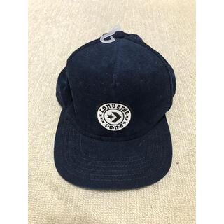 コンバース(CONVERSE)のCONVERSE コンバース コーデュロイ ジェットキャップ 帽子 紺 ネイビー(キャップ)