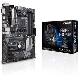 エイスース(ASUS)のASUS マザーボード PRIME B450-PLUS(PCパーツ)