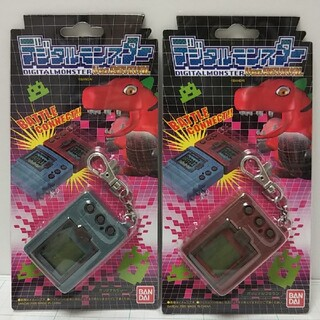 バンダイ(BANDAI)のデジタルモンスター Ver.REVIVAL バンダイ グレー ブラウン セット (携帯用ゲーム機本体)