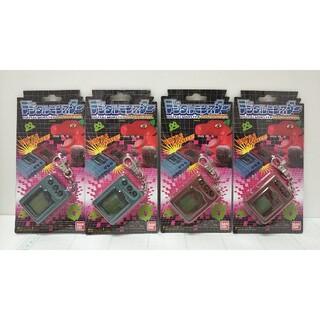 バンダイ(BANDAI)の4個セット デジタルモンスター Ver.REVIVAL バンダイ グレ ブラウン(携帯用ゲーム機本体)