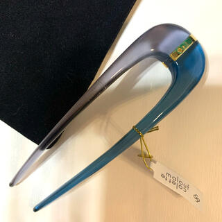 コレットマルーフ(colette malouf)の【新品】Colette Malouf✦Gemology Hairpin ブルー(ヘアピン)