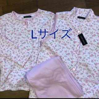 ローラアシュレイ(LAURA ASHLEY)のローラアシュレイ  ベスト付きパジャマ Lサイズ ピンク(パジャマ)