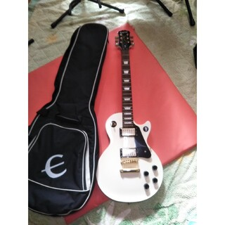 エピフォン(Epiphone)のEpiphoneレスポールスタジオ セットネック ヴィンテージホワイト(エレキギター)