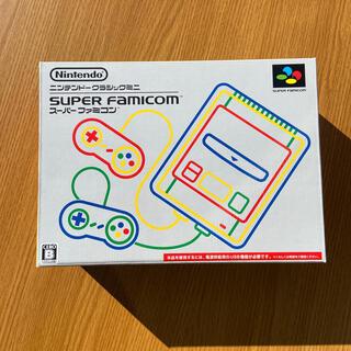スーパーファミコン(スーパーファミコン)のNintendo ゲーム機本体 ニンテンドークラシックミニ スーパーファミコン(家庭用ゲーム機本体)
