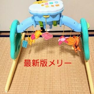 タカラトミー(Takara Tomy)の最新版 くまのプーさん えらべる回転 6WAYジムにへんしんメリー(ベビージム)