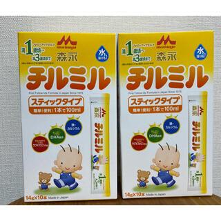 森永乳業 - 【新品未開封】森永チルミル スティックタイプ2箱セット