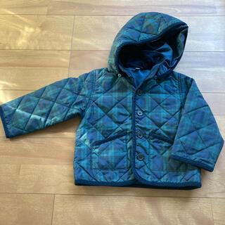 MUJI (無印良品) - 【値下げしました】無印良品 キルティングジャケット サイズ100
