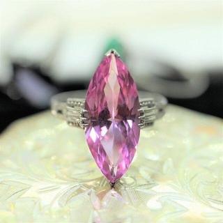 C サンプラチナ ヴィンテージリング 指輪 昭和 レトロ(リング(指輪))