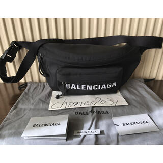 バレンシアガ(Balenciaga)の【美品 人気】Balenciaga ウィール ベルトパック(ウエストポーチ)