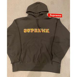シュプリーム(Supreme)のシュプリーム パーカー 黒 XL (パーカー)