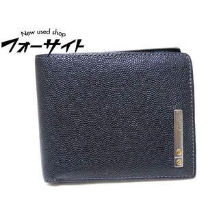 カルティエ(Cartier)のカルティエ 2つ折り 札入れ ☆ サントス ブラック L3000773(折り財布)