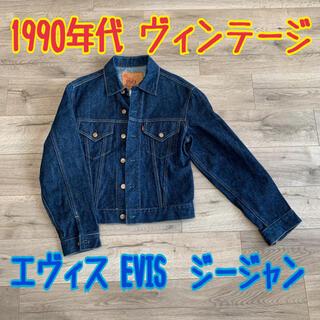 エビス(EVISU)の激レア エヴィス 1557 サイズ38 EVIS デニムジャケット Gジャン(Gジャン/デニムジャケット)
