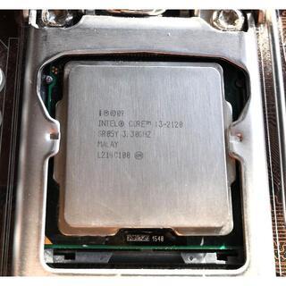 三点セット:マザーボード+ Intel Core i3 + 8Gメモリ(PCパーツ)