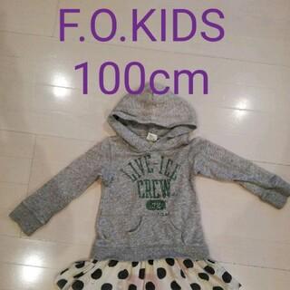 エフオーキッズ(F.O.KIDS)のF.O.KIDS スウェットワンピース 100cm(ワンピース)