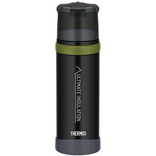 サーモス(THERMOS)の【新品】500ml THERMOS 山専ステンレスボトル マットブラック(食器)