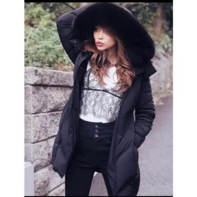 rienda(リエンダ)のrienda Faux Furストレッチダウン リエンダ レディースのジャケット/アウター(ダウンコート)の商品写真