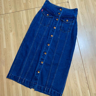 ロデオクラウンズ(RODEO CROWNS)のデニムロングスカート(ロングスカート)