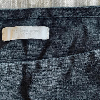 フォグリネンワーク(fog linen work)のフォグリネンワーク シャツ 黒(シャツ/ブラウス(長袖/七分))