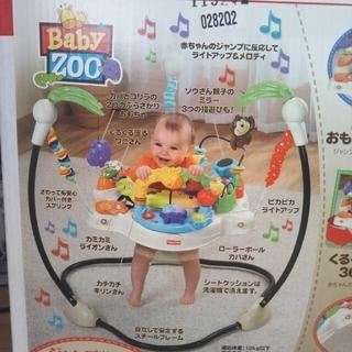 フィッシャープライス(Fisher-Price)の赤ちゃん 運動 知育玩具 ベビーどうぶつえん ジャンパルー おうち遊び (ベビージム)