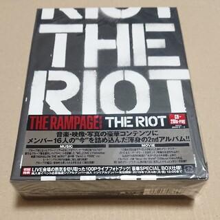 ザランページ(THE RAMPAGE)の豪華盤 未使用品 THE RIOT(Blu-ray Disc2枚付)(ポップス/ロック(邦楽))