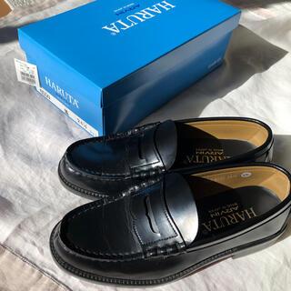 ハルタ(HARUTA)のHARUTA 24.5cm 皮 ローファー(ローファー/革靴)