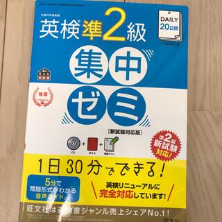 オウブンシャ(旺文社)のDAILY20日間英検準2級集中ゼミ 新試験対応版(資格/検定)