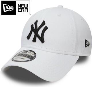 ニューエラー(NEW ERA)のニューエラ キャップ NY ヤンキース 白 ホワイト white(キャップ)