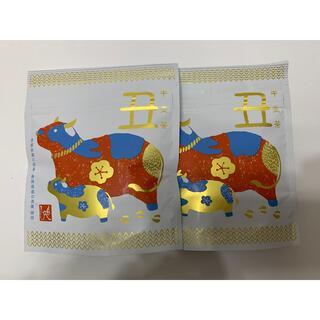 KALDI - もへじ 干支茶 丑 2個 KALDI