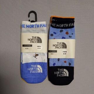 ザノースフェイス(THE NORTH FACE)のノースフェイス 靴下 ソックス キッズ 16-18センチ(靴下/タイツ)