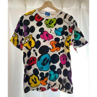 ディズニー(Disney)のDisney ディズニー ミッキー柄Tシャツ【値下げ】(Tシャツ/カットソー(半袖/袖なし))
