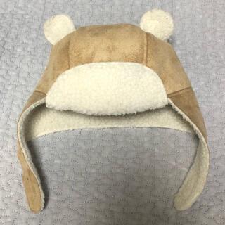 ギャップ(GAP)の美品 GAP クマ耳 ボア 帽子 12-18M(帽子)