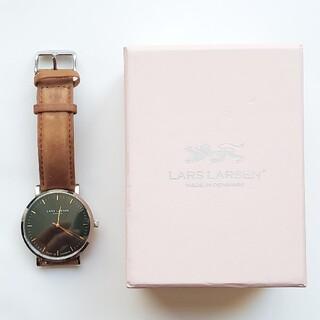Daniel Wellington - LARS LARSEN ラースラーセン 北欧系 腕時計 LL143SGBLJ