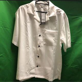 ウィゴー(WEGO)のオープンカラーシャツ M(シャツ)