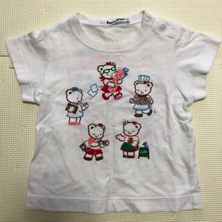 ファミリア(familiar)のファミリア Tシャツ おはなしTシャツ 80サイズ(Tシャツ)