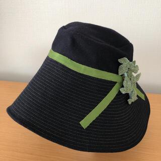 セット・ブルー ハット ウール100% 帽子(ハット)