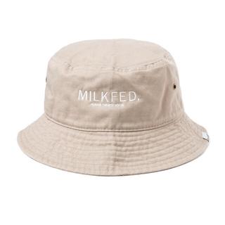ミルクフェド(MILKFED.)のMILK FED. ロゴバケットハット(ハット)