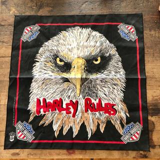 ハーレーダビッドソン(Harley Davidson)の80s アメリカンイーグル(バンダナ/スカーフ)