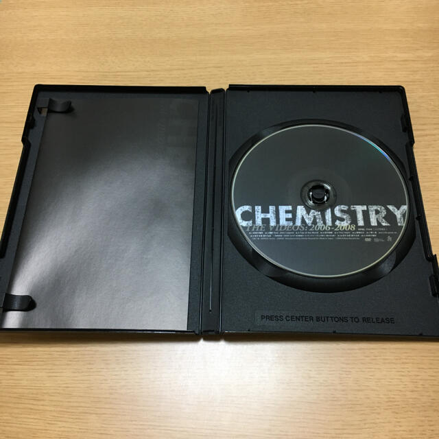 CHEMISTRY CHEMISTRY THE VIDEOS:2006-2008 エンタメ/ホビーのDVD/ブルーレイ(ミュージック)の商品写真
