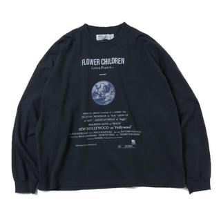 """ジエダ(Jieda)の21ss DAIRIKU""""Earth"""" Thrift L-S Tee""""(Tシャツ/カットソー(七分/長袖))"""