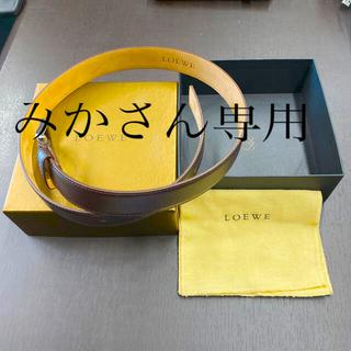 ロエベ(LOEWE)のロエベ ベルト 新品・未使用品(ベルト)