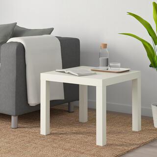 イケア(IKEA)のIKEA サイドテール ラック 50x50cm  新品未使用(コーヒーテーブル/サイドテーブル)