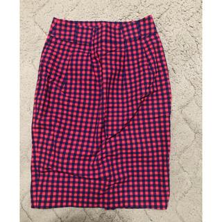 ロデオクラウンズ(RODEO CROWNS)のロデオクラウンズ チェック タイトスカート(ひざ丈スカート)