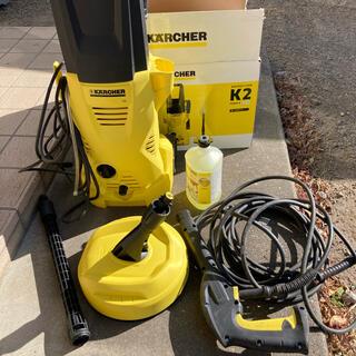 ケーツー(K2)の美品 ケルヒャー(KARCHER) 高圧洗浄機 K2 ホームキット  (掃除機)