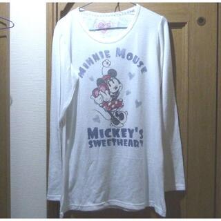 ディズニー(Disney)のディズニー ミニーちゃんのセーター サイズM <h314>(ニット/セーター)